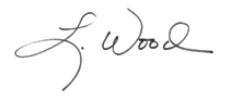 Laura Wood's signature