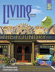NW Georgia Living Magazine - Celebration 2017 cover / The Foundry