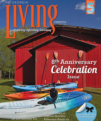 NW Georgia Living Celebration 2018 cover
