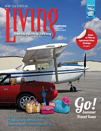 NW Georgia Living Spring 2017 cover