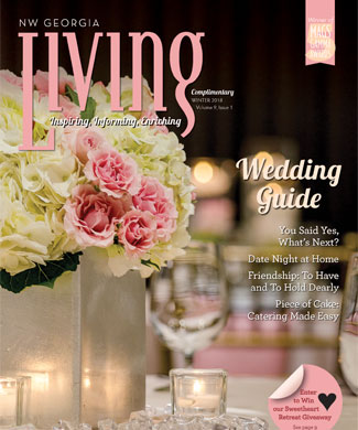 NW Georgia Living Winter 2017 cover