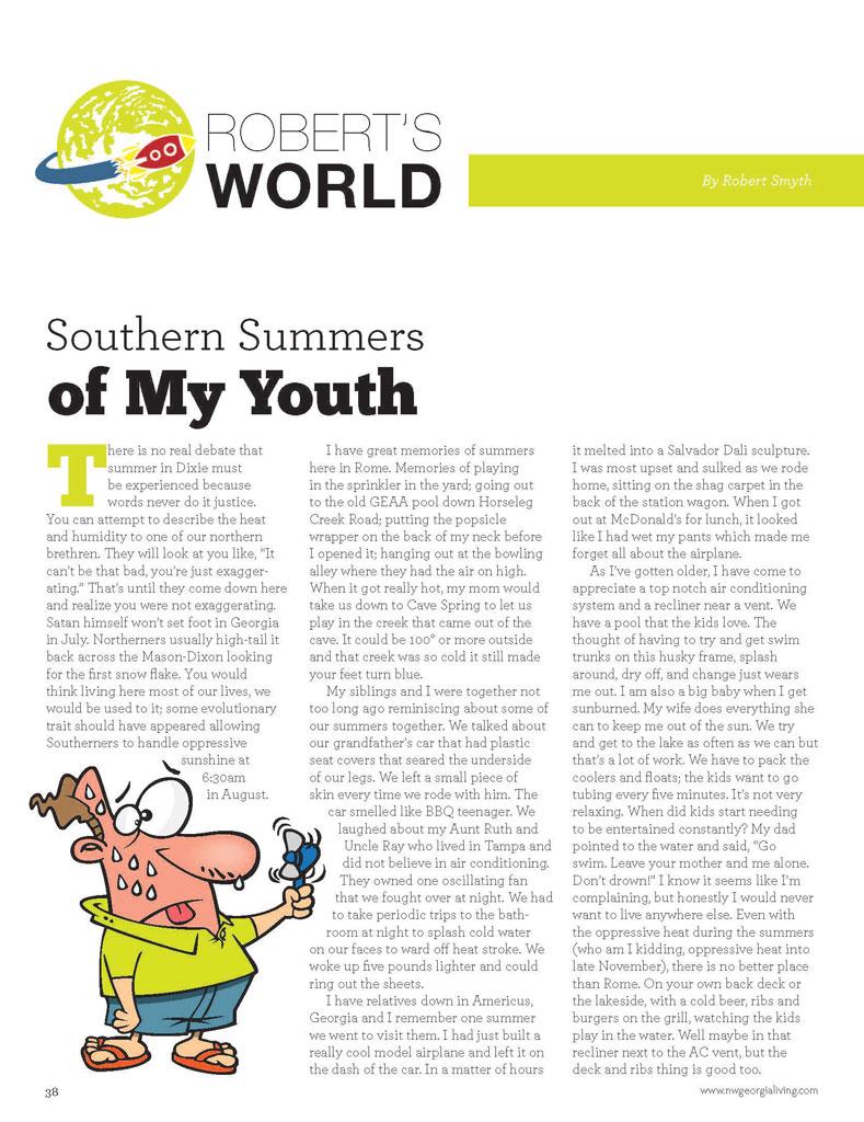 Robert's World – Northwest Georgia Living