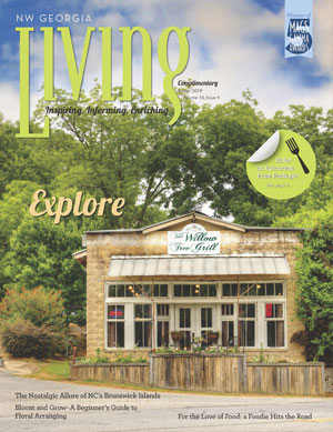 NW Georgia Living Holiday 2018 cover